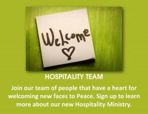 Hospitality Team poster