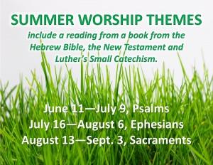 Sermon series summer 2017 poster