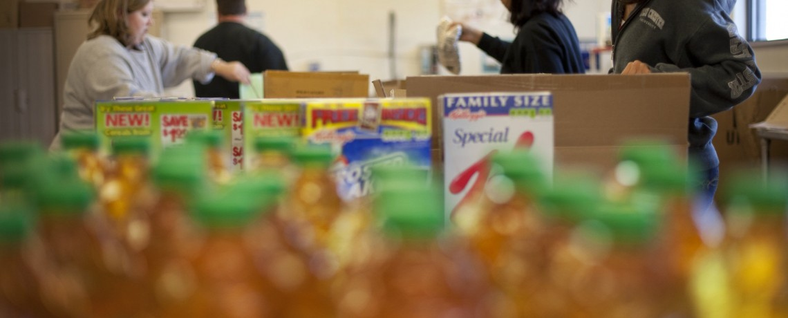 March is Food Shelf Month