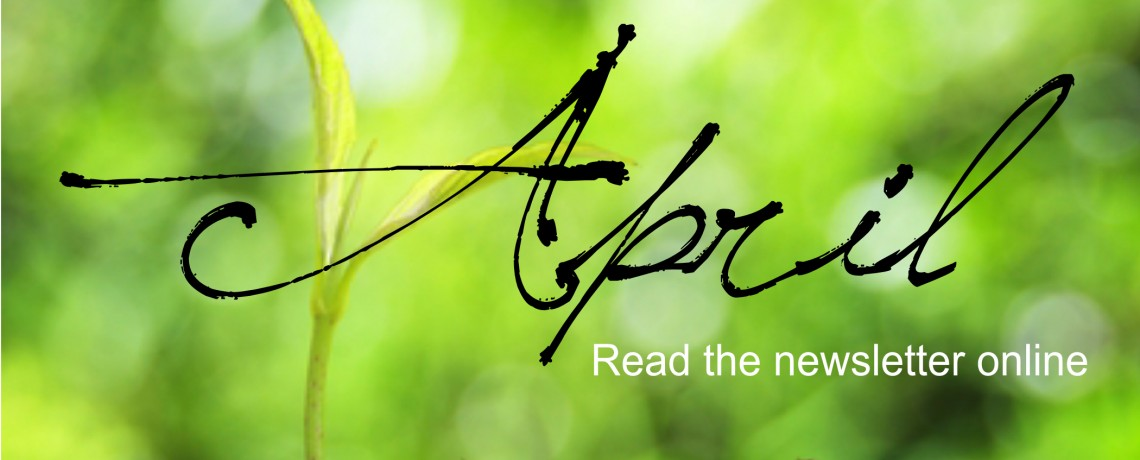 Read the April Peace Notes online!