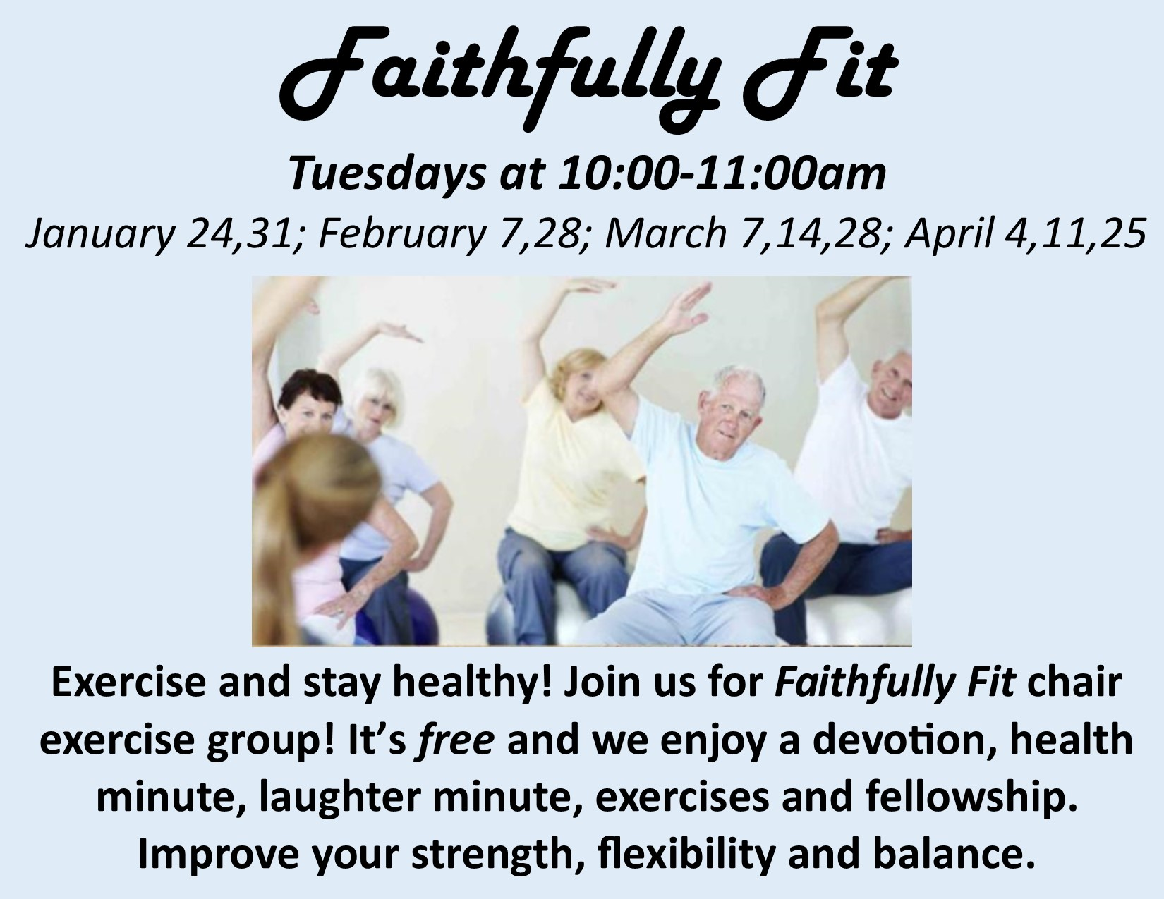 Faithfully Fit poster