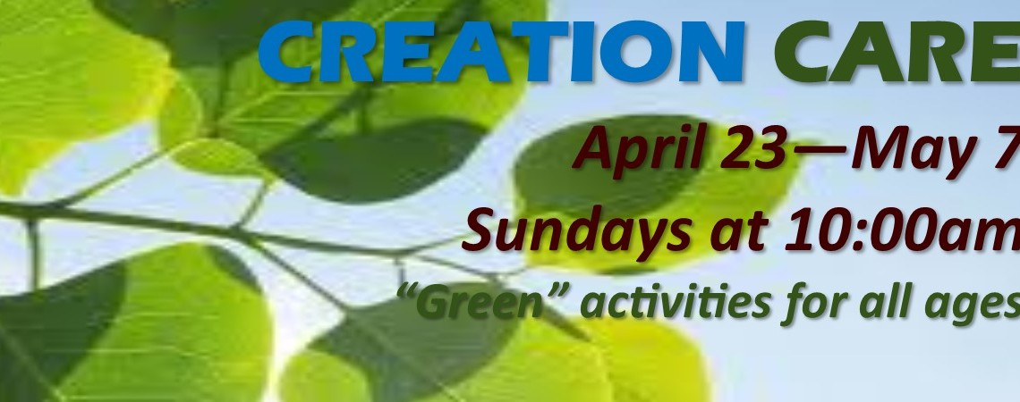 Creation Care Events