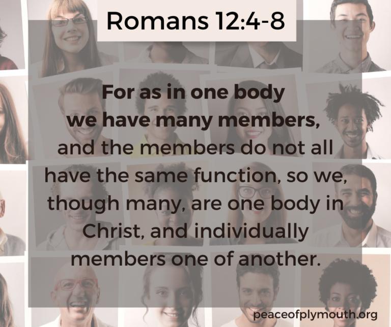 Romans 12_4-8