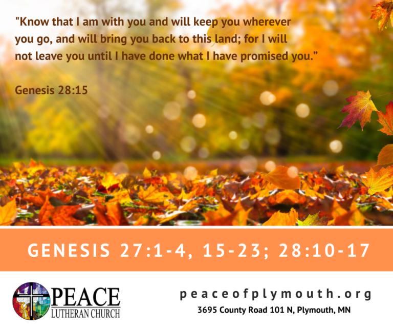 Genesis 28 15